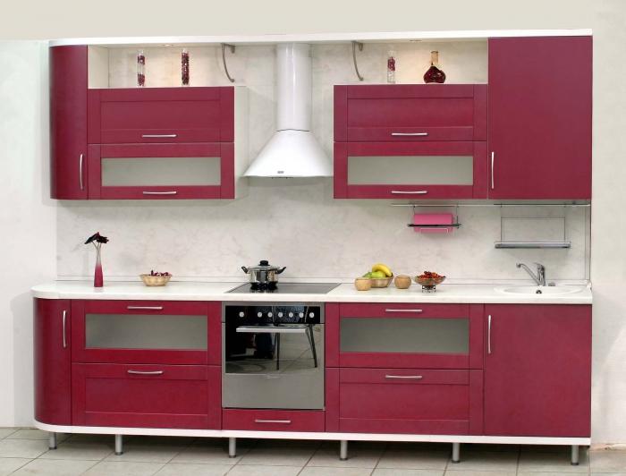 Кухонные секции